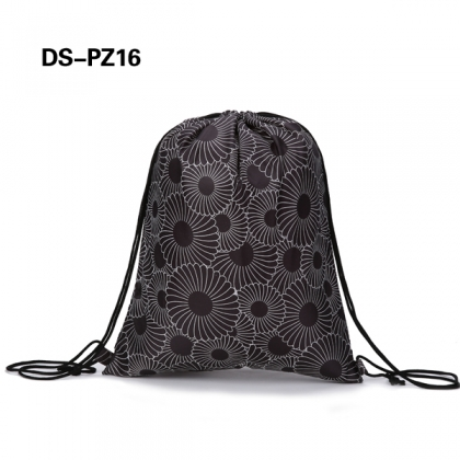 Patterned Drawstring Bags