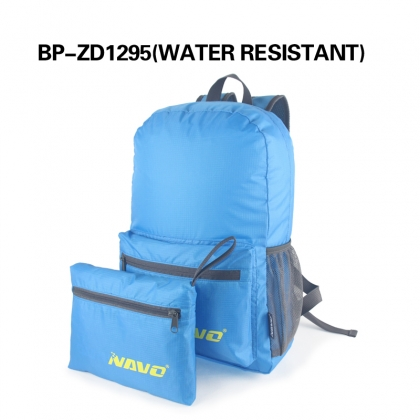 Water Resistant Foldable Backpack